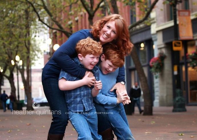 family photo Seattle