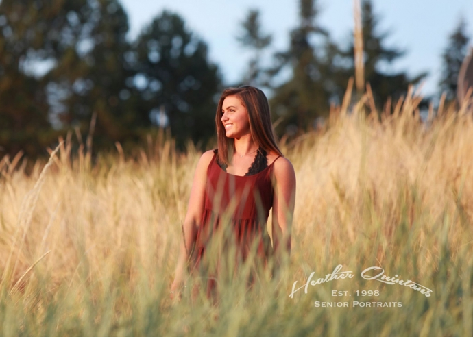 Gorgeous Lighting of Seattle Senior Photo