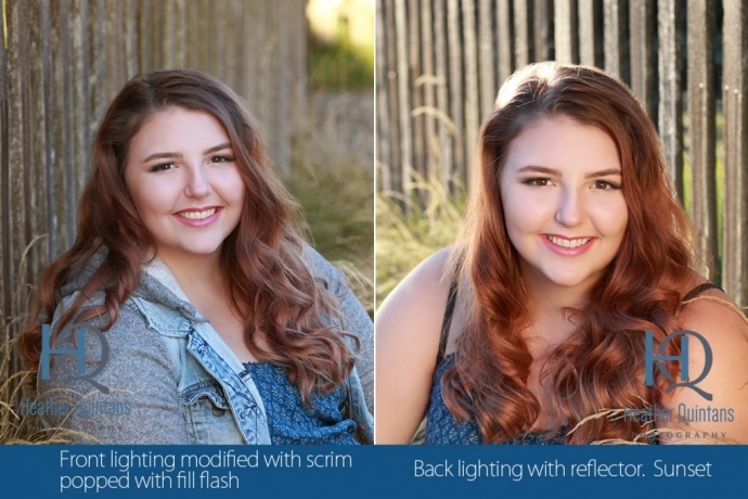 Gorgeous Lighting Senior Photo Seattle
